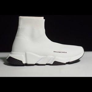 Balenciaga Speed Trainers White